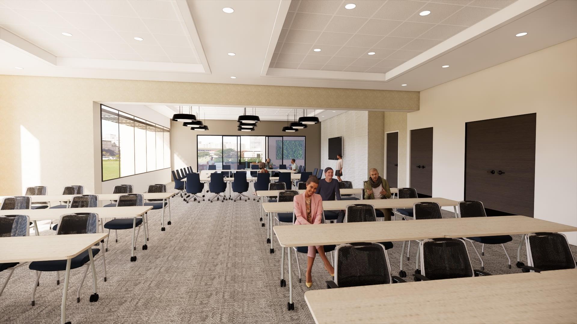 Campus Federal Credit Union Siegen Lane Rendering