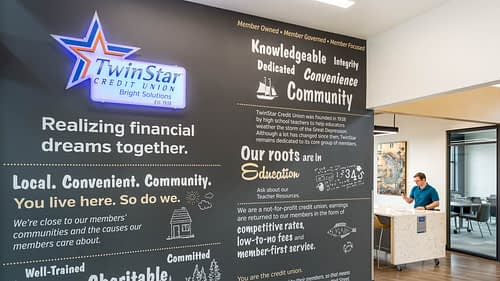 TwinStar Credit Union Aberdeen - Branch Design Build Project