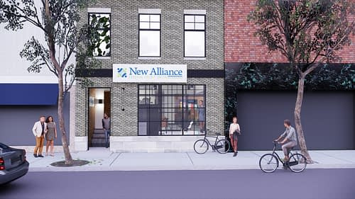 New Alliance Federal Credit Union Branch Design Build