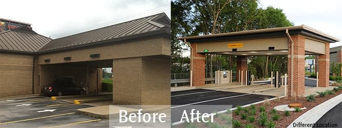 RiverFall Credit Union Northport branch drive up