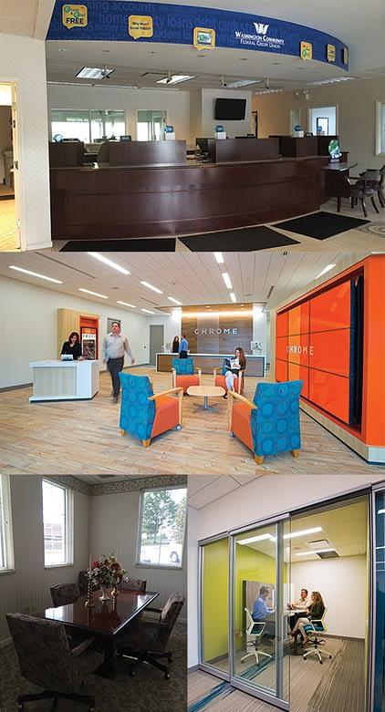 Chrome Federal Credit Union - A Design Build Branch Project